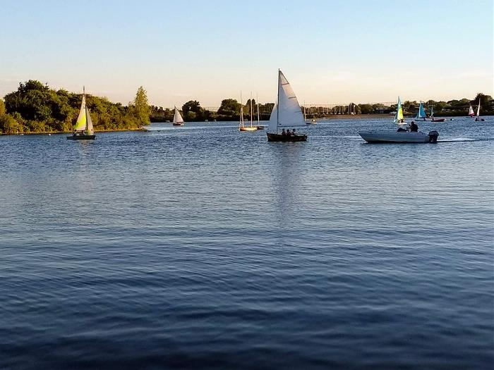 Scouts Boating at Fairlop